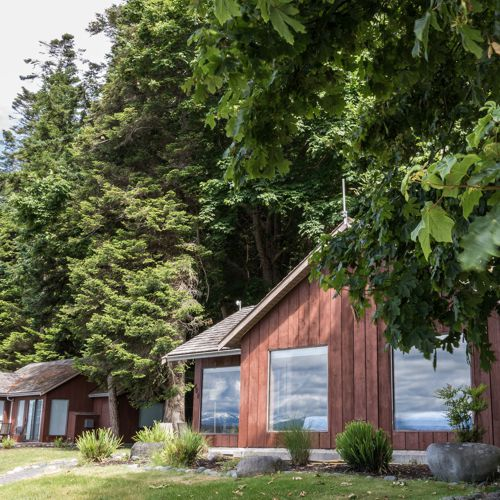 Cape Mudge Resort, Quadra Island