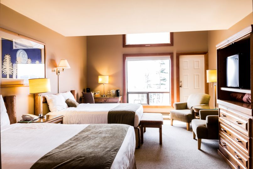 Cape Mudge Resort, Quadra Island, Double room